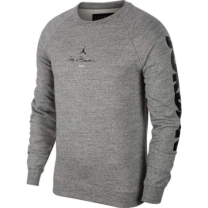 Jordan Sudadera Sportswear Legacy Aj11 Fleece Po Gris S (Small)