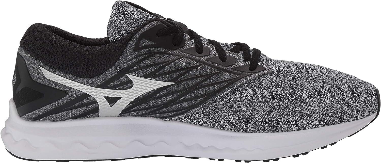 Mizuno Men's Wave Polaris Running Shoe Heathered Grey (9595)