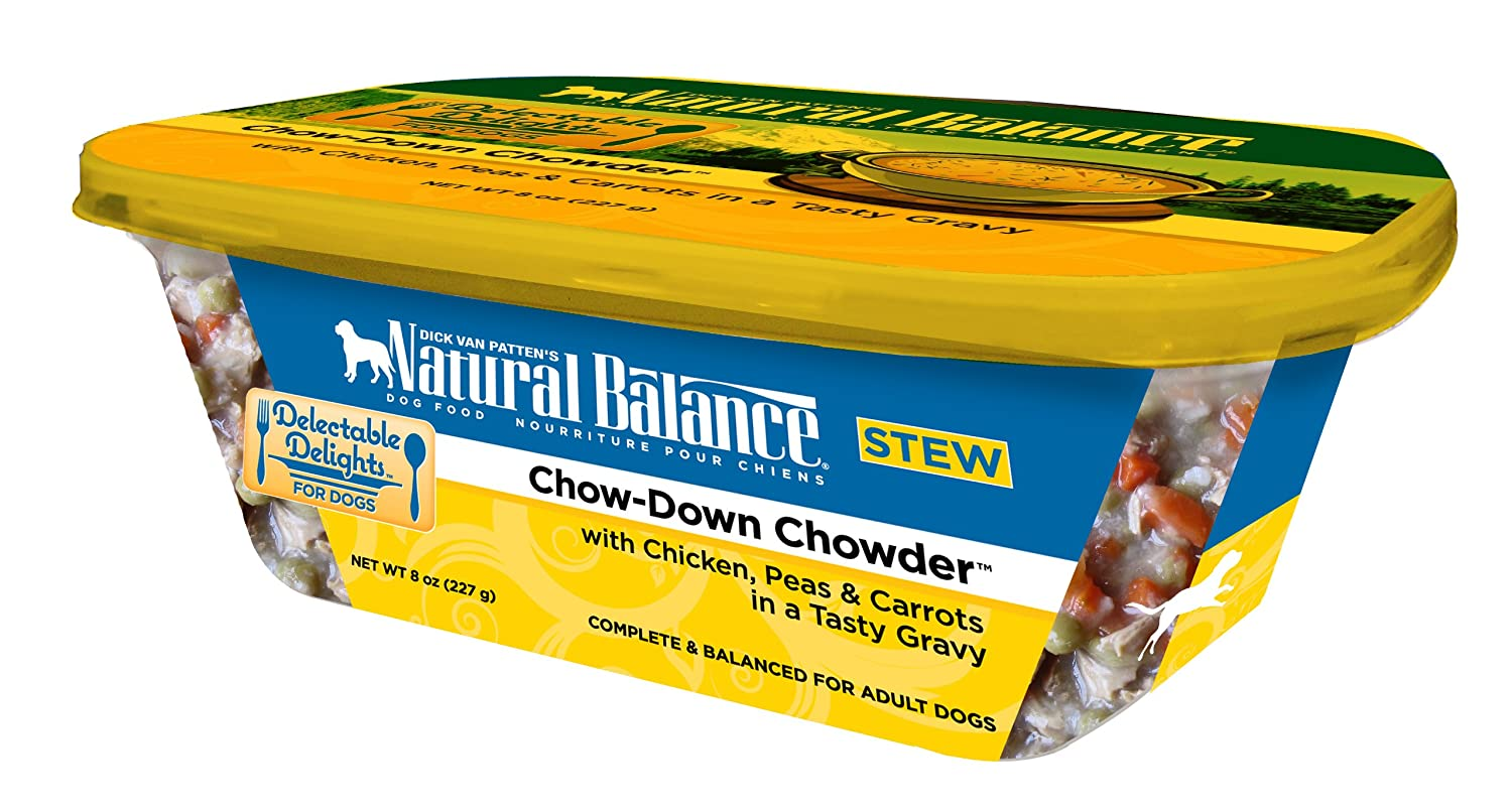Dick Van Patten'S Natural Balance Natural Balance Delectable Delights Chow Down Chowder Dog Stew