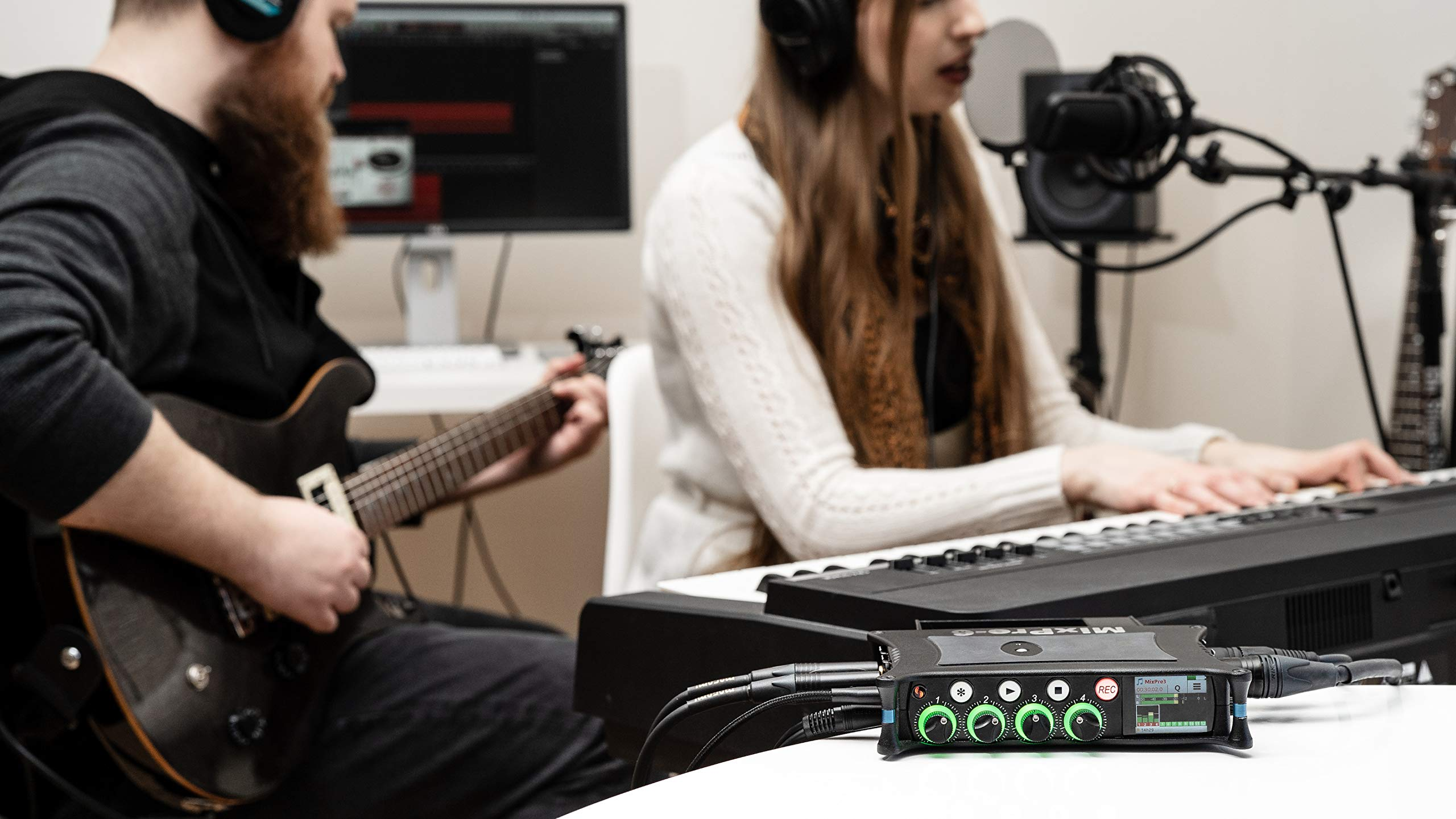 Sound Devices MixPre-6M for Musicians - Portable Multitrack Music Recorder and USB Interface