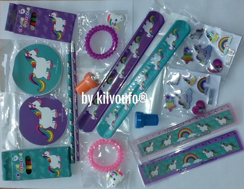 Pack 16 Jouets Licornes pour petits cadeaux des invités lbk