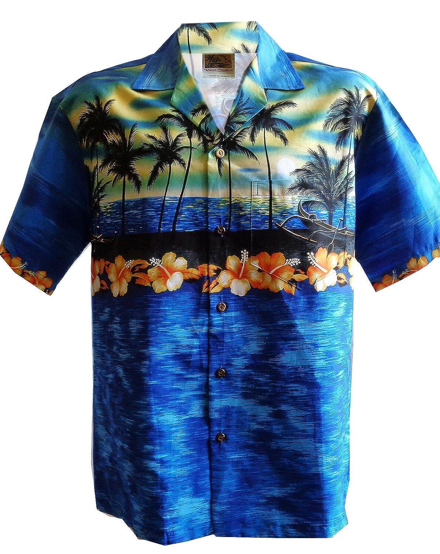 Cotton Assorted 2017 Pono Fashions Made in Hawaii Aloha Hawaiian Shirt