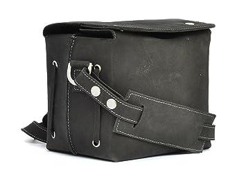 9c5bda6c0813 Genuine Leather Bag for DSANTECH POLO D3000 DSLR Camera ( CUBE Black ...