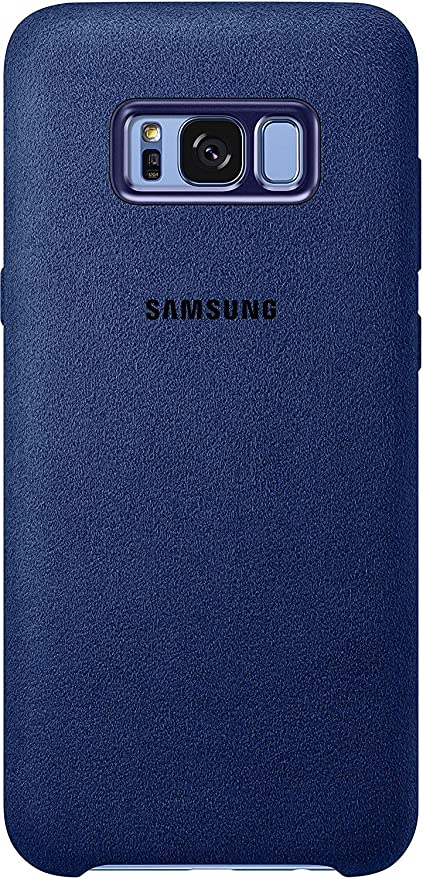 separation shoes 32257 1b773 Samsung Alcantara Qi Wireless Charging Leather Cover: Amazon.in ...