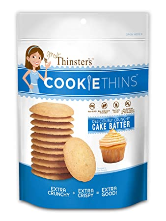 Mrs Thinsters Cookie Thin Cake Batter Pack Of 2