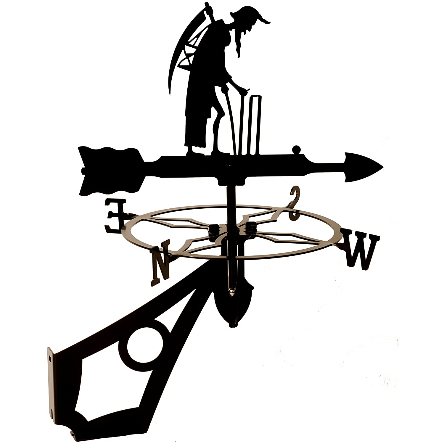 Dragon Laser Ltd. W130BLK Father Time, Cricket Weathervane