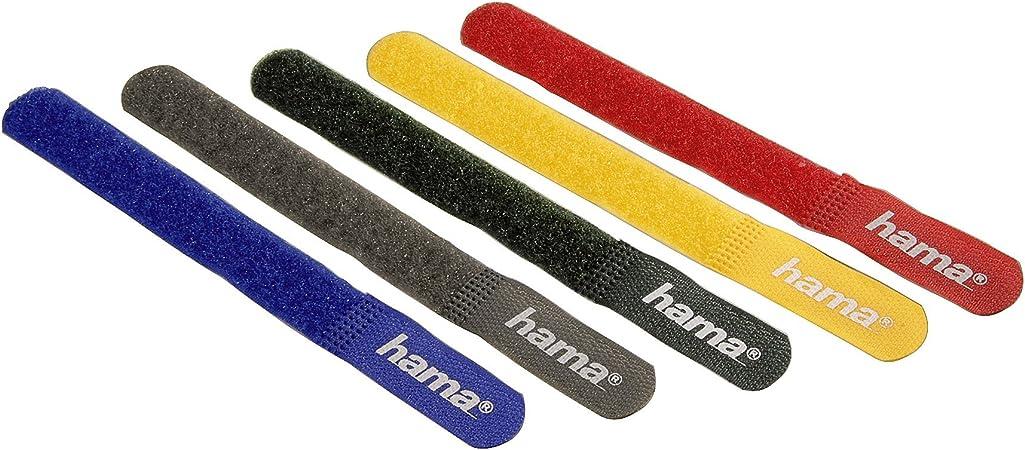 Hama Klett Kabelbinder 180 Mm Farbig Computer Zubehör