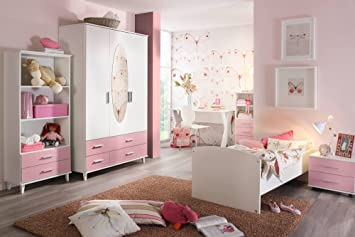 lifestyle4living Jugendzimmer, Kinderzimmer, Komplett-Set ...