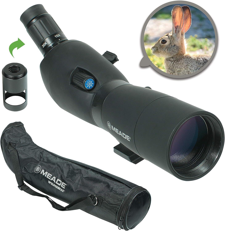 Meade Instruments 126000 Wilderness 15-45 x 65 mm, Color Negro