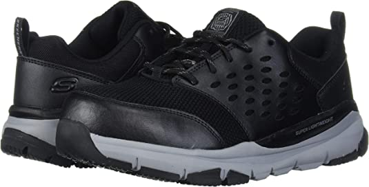 2019 Style Mode Dernier Skechers Work Soven Alloy Toe SR