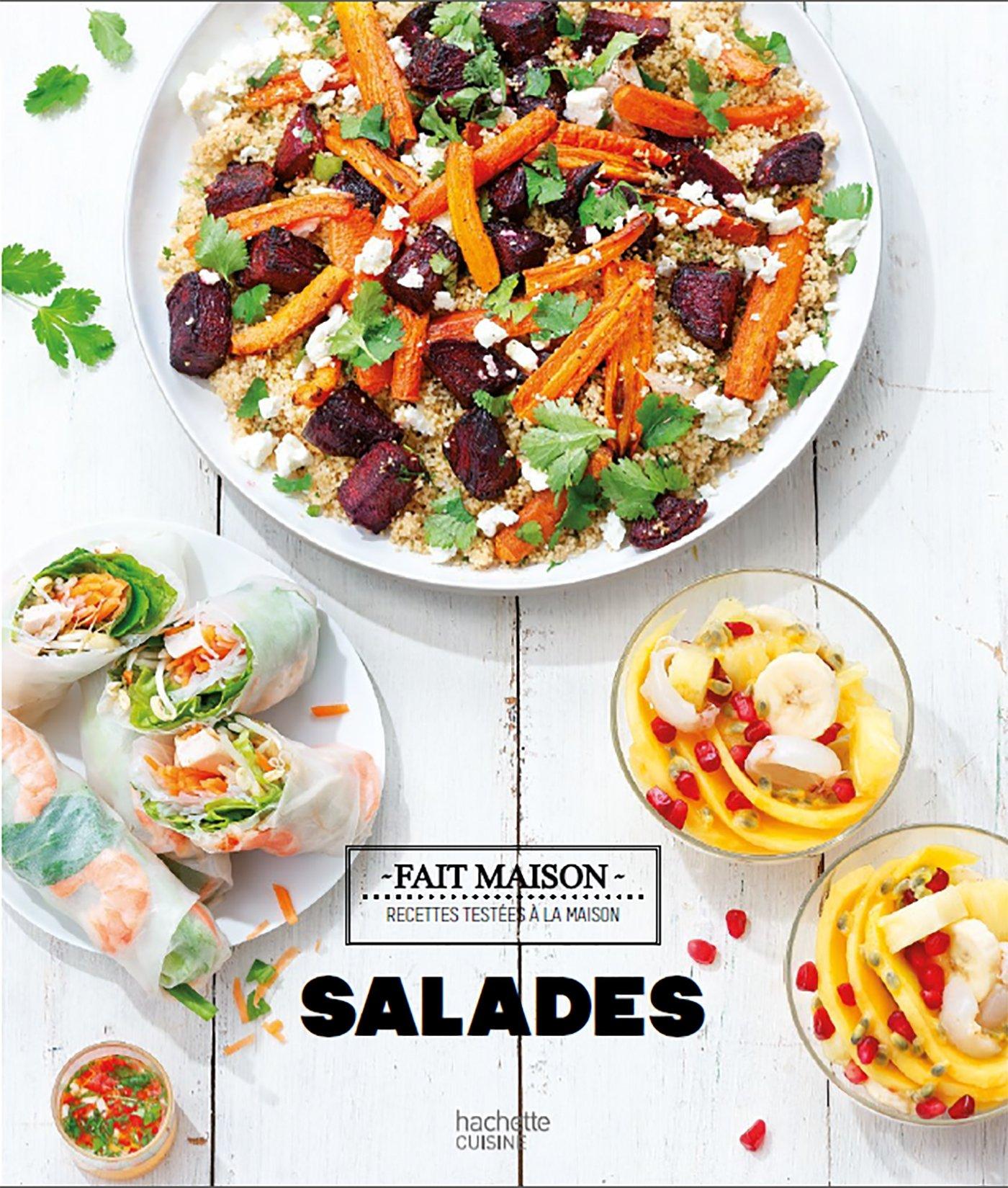 Fait Maison Salades Cuisine French Edition Isabelle Guerre Hachette 9782011713940 Amazon Com Books