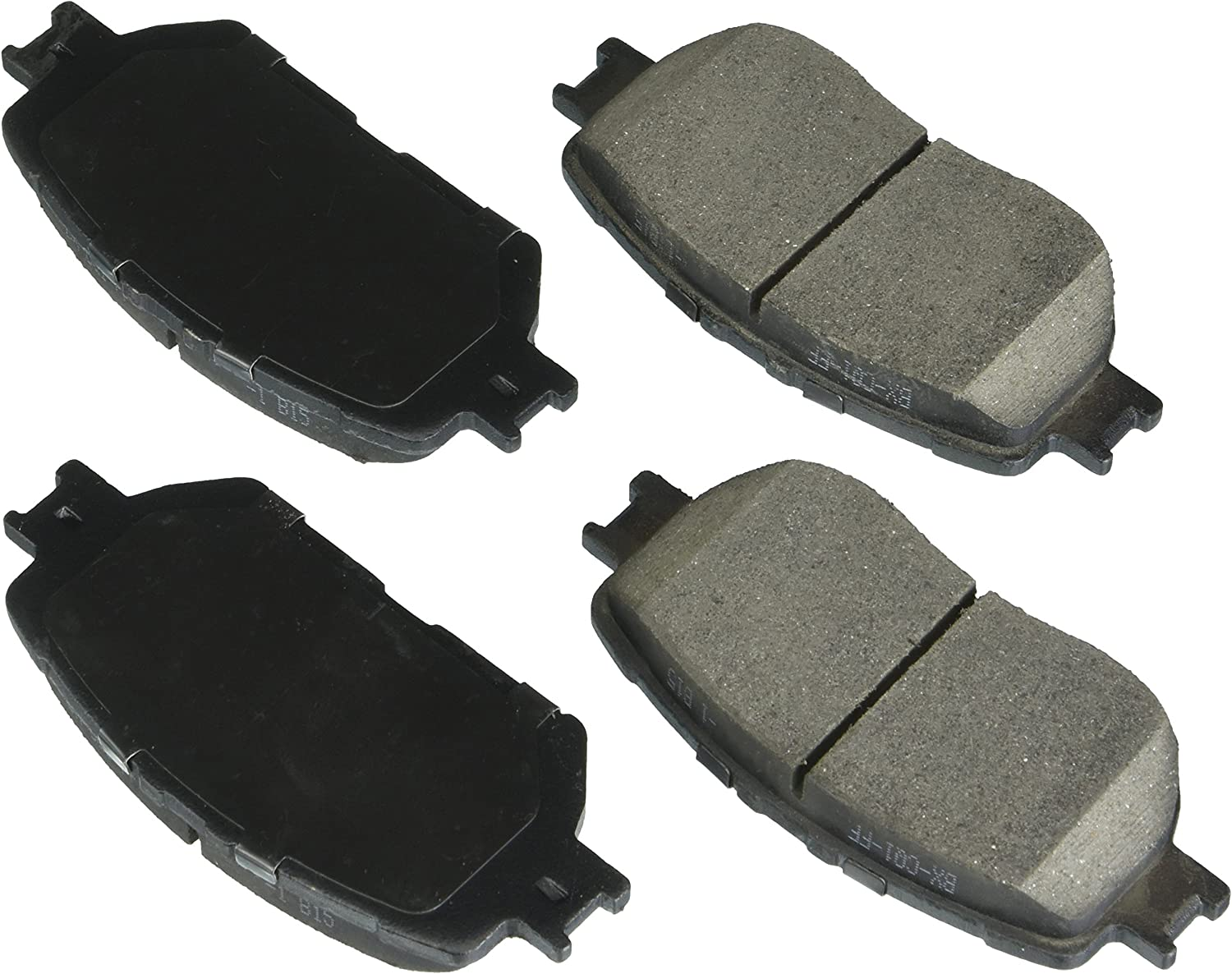 Bosch BE908H Blue Disc Brake Pad Set with Hardware