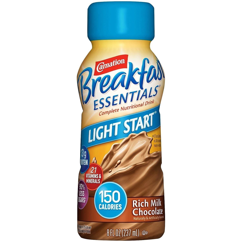 Amazon.com : Carnation Breakfast Essentials Complete Light Start ...