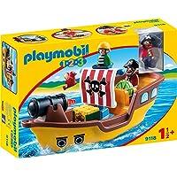 PLAYMOBIL 1.2.3 Barco Pirata, a Partir de 1.5