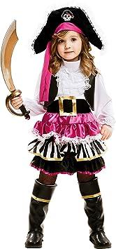 My Other Me Me-202008 Disfraz de pequeña pirata para niña, 5-6 ...