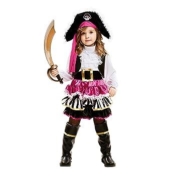 My Other Me Me-202007 Disfraz de pequeña pirata para niña, 3-4 años (Viving Costumes 202007