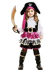My Other Me Me-202008 Disfraz de pequeña pirata para niña 5-6 años Viving Costumes 202008