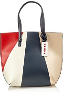 Tommy Hilfiger Sac À Main Th Effortless Tote Lrg Geo Metallic Tommy Hilfiger Solde