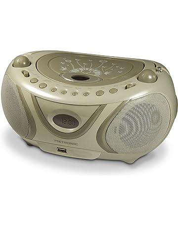 Metronic 477114 sistema estéreo portátil Digital 2 W Gris - Radio CD (Digital, AM