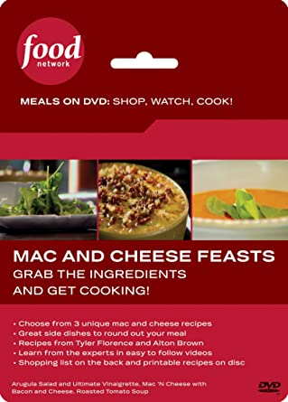 Amazon Food Network Meals On Dvd Shop Watch Cook Mac And