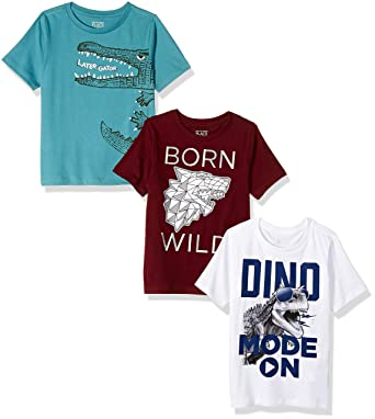 43e9a1ba5cbd5 Amazon.com: The Children's Place Baby Boys Short Sleeve Graphic Tees:  Clothing