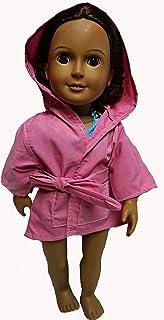 Doll Clothes Superstore Costume da Bagno Intero in Kitty con Cover per Bambole per Ragazza 18 Pollici