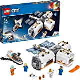 LEGO City Space Lunar Space Station 60227 Space Station Building Set with Toy Shuttle, Detachable Satellite and…