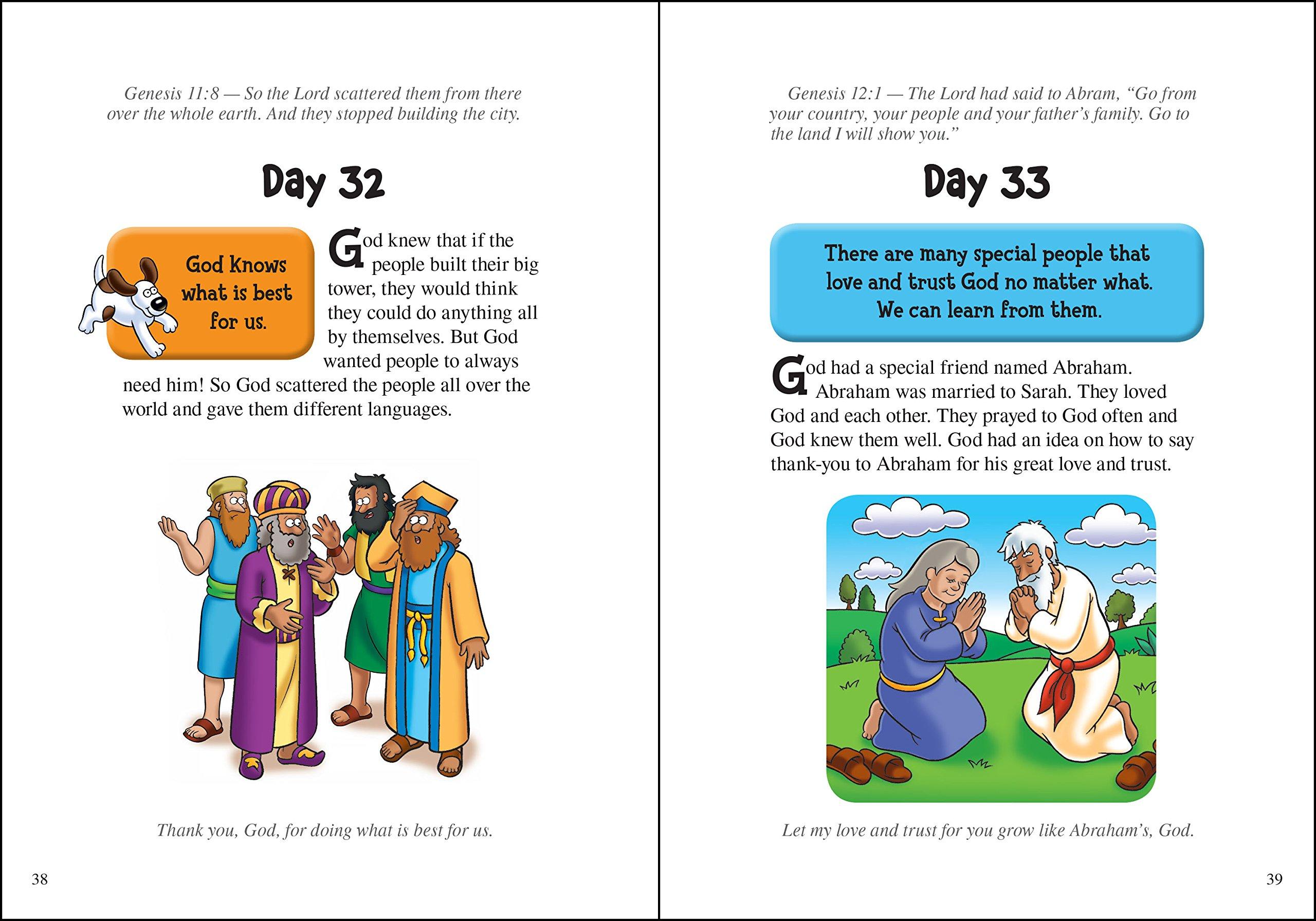 The Beginner s Bible Kid Sized Devotions Zondervan