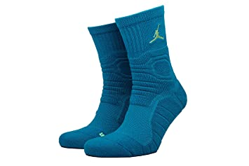 Nike Michael Jordan Ultimate Flight QTR Sock Calcetines, Hombre, Verde Abyss/Ghost Green, XL: Amazon.es: Deportes y aire libre