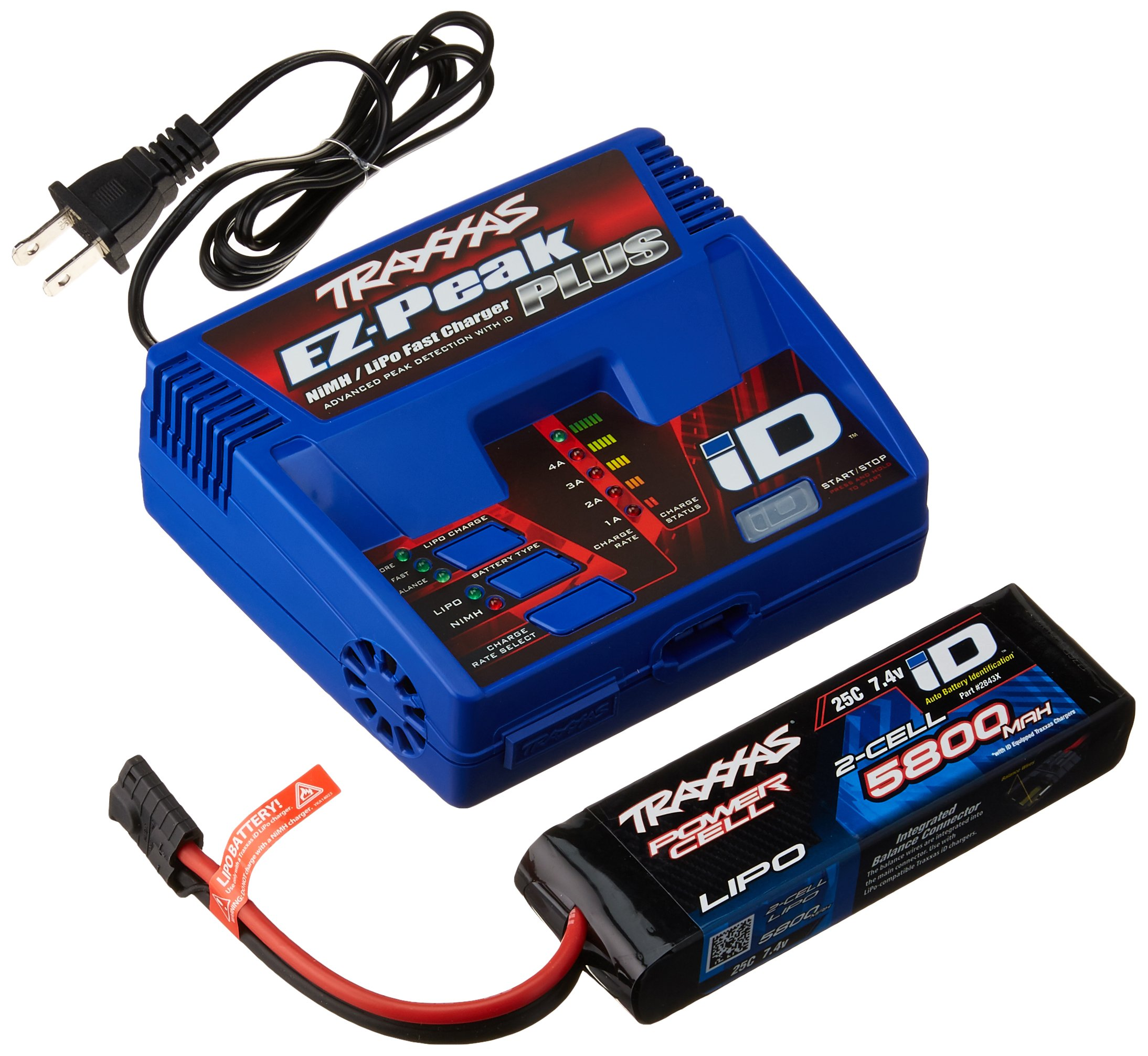 Traxxas 2992 LiPo Battery and Charger Completer Pack | eBay