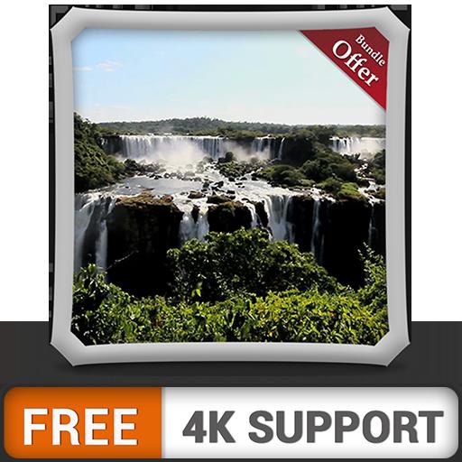 cascada gratuita bosque HD: decora tu habitación con hermosos paisajes en tu televisor HDR 4K, TV 8K y dispositivos de fuego como fondo de pantalla, decoración para las vacaciones de Navidad, tema