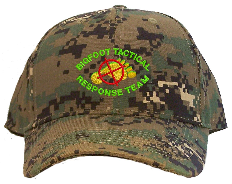 Camo Bigfoot Tactical Response Team Embroidered Baseball Cap