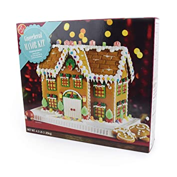 No Bake Gingerbread House Kit Christmas Mansion With Cookies Candy Icing And Instructions Included
