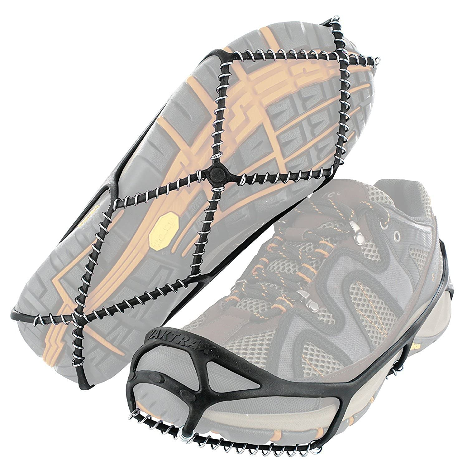 Yaktrax Walker safety anti-slip ice grips for regular footwear