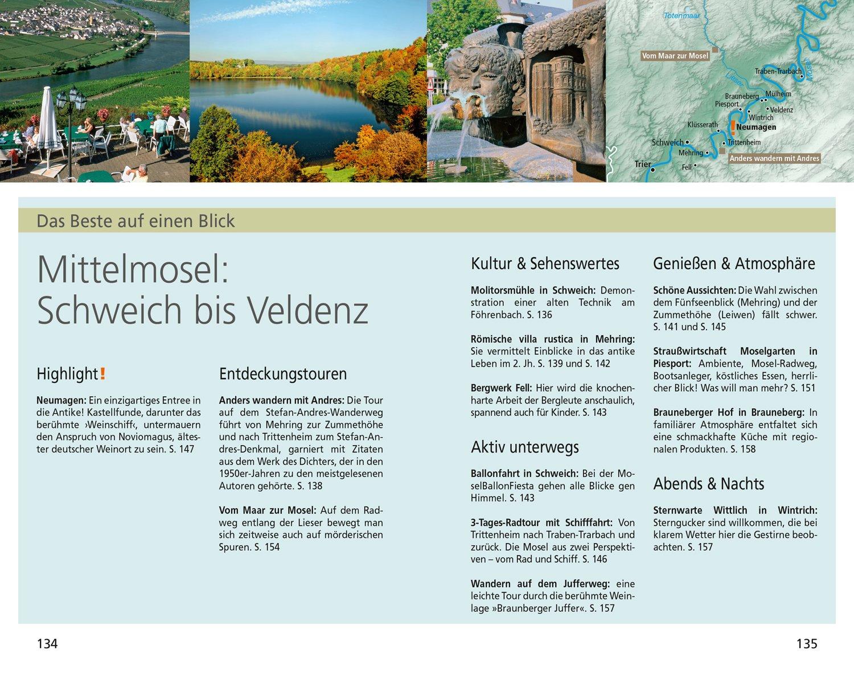 Mosel Karte Mit Allen Orten.Dumont Reise Taschenbuch Reiseführer Mosel Mit Online Updates Als