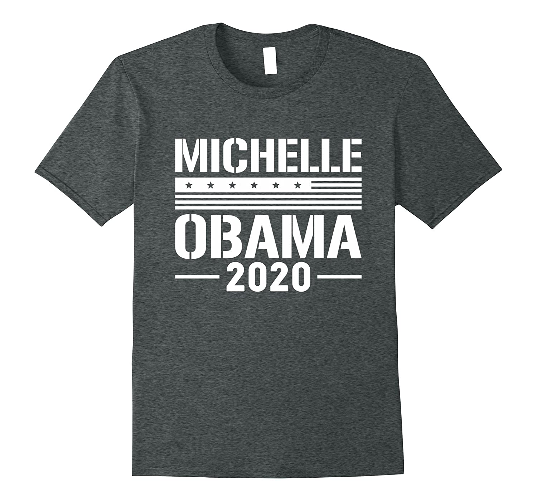 Michelle Obama 2020 For President Unisex White Print T-Shirt