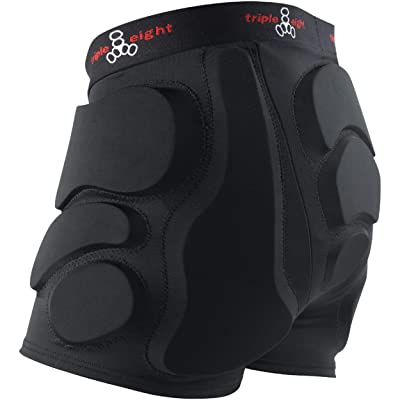 Triple Eight RD Bumsaver Women's Padded Shorts for Roller Derby, Skateboarding and Skating : Skate And Skateboarding Padded Shorts : Clothing
