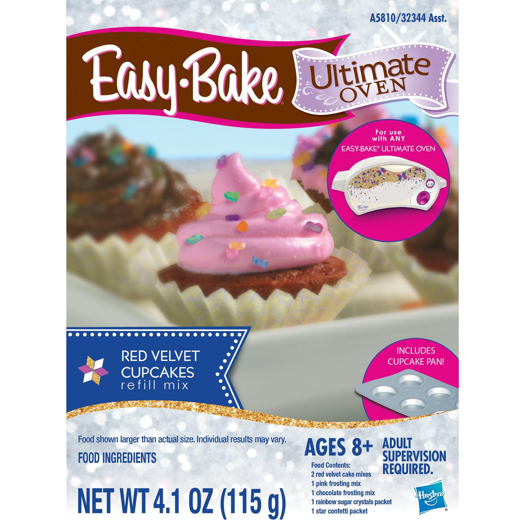 Easy-Bake Ultimate Oven Red Velvet Cupcakes Refill Pack by Easy Bake