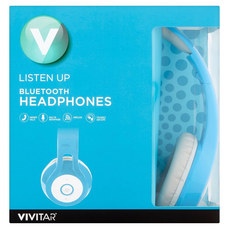 Modern Vivitar Listen Up Bluetooth Over Ear Headphones Blue Currently Soul Run Free Pro Wireless Earphone Headset Storm Black