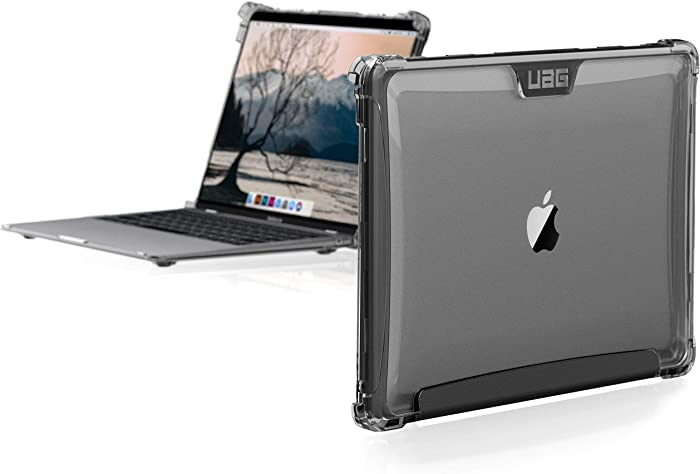 UAG MacBook Air 13-inch (2018-2020) (A1932 & A2179) Plyo Feather-Light Rugged [Ice] Military Drop Tested Laptop Case