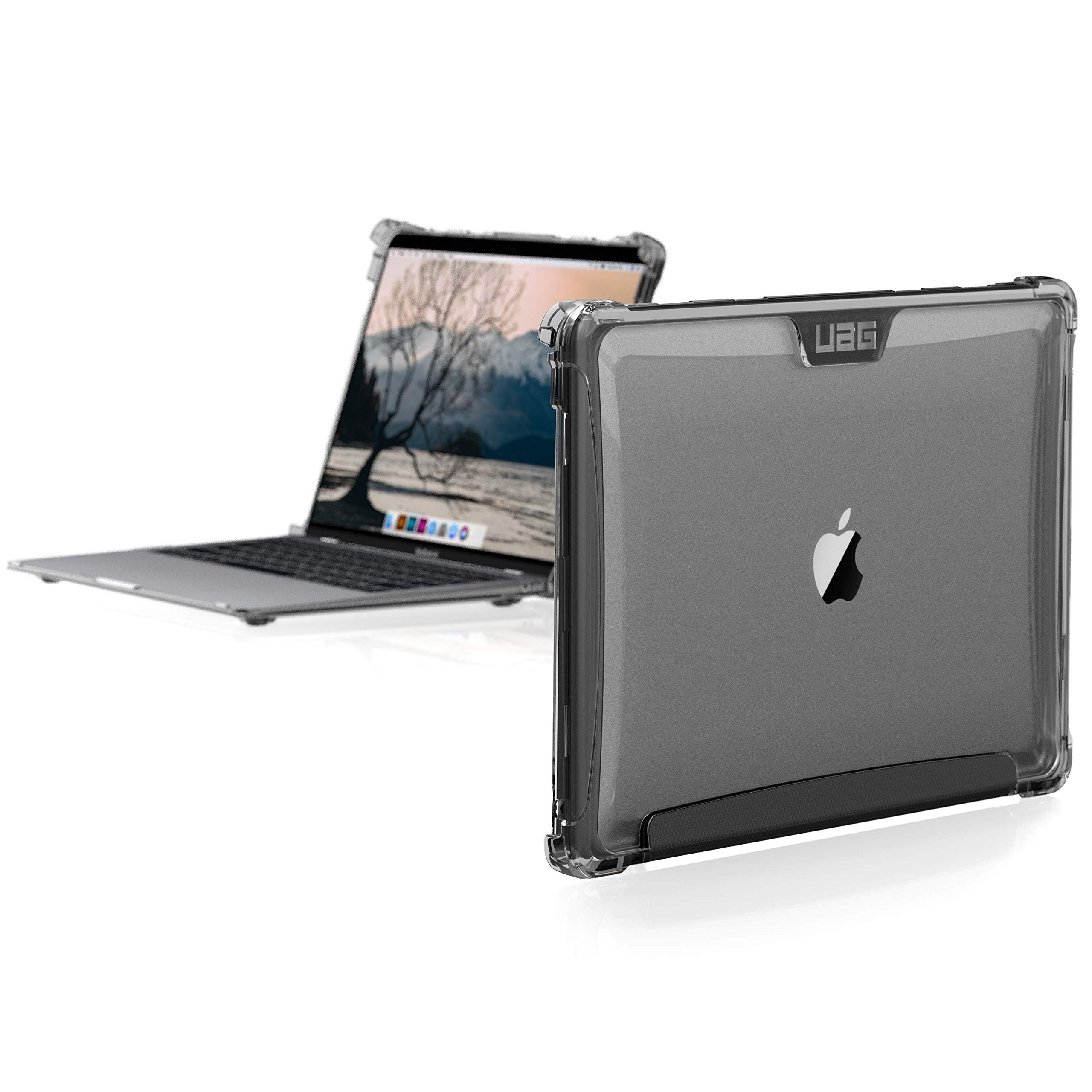 UAG MacBook Air 13-inch (2018) (A1932) Plyo Feather-Light Rugged [Ice] Military Drop Tested Laptop Case