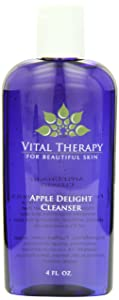 Vital Therapy Cleanser, Apple Delight, 4 Ounce