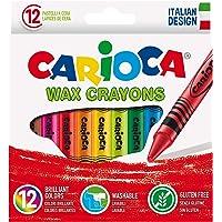 Carioca 42365 wasbaar waskrijt (Pak van 12)