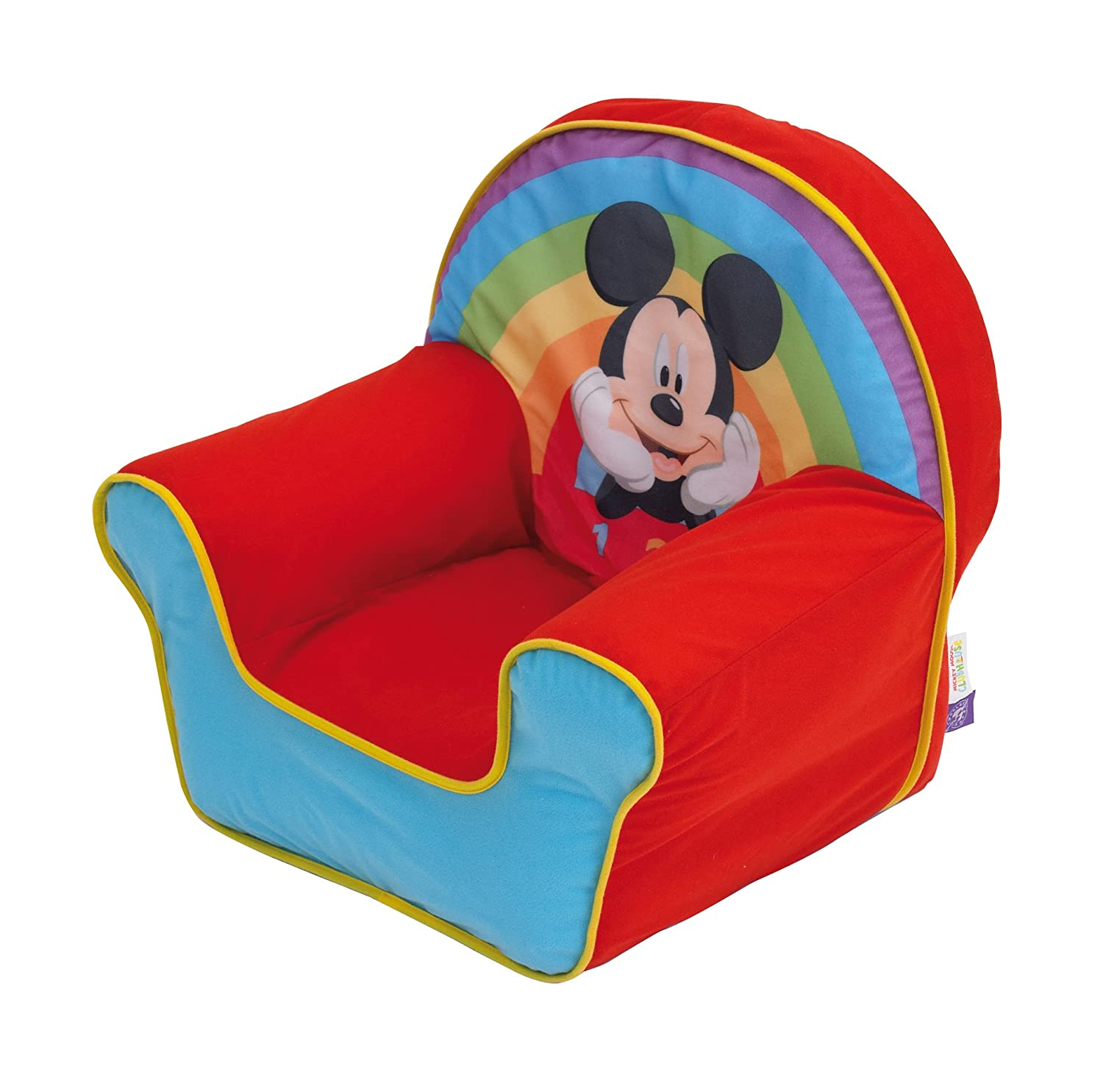 Disney Mickey Mouse Inflatable Chair For Kids Worlds Apart 280MIC01E Movie & TV