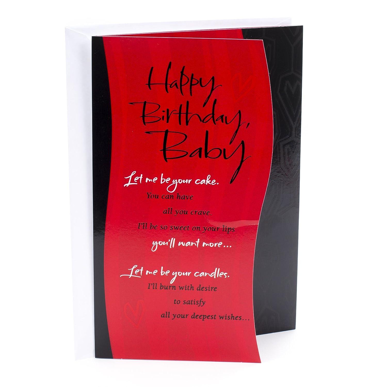 Amazon Hallmark Mahogany Birthday Card Let Me Be Your Office Products