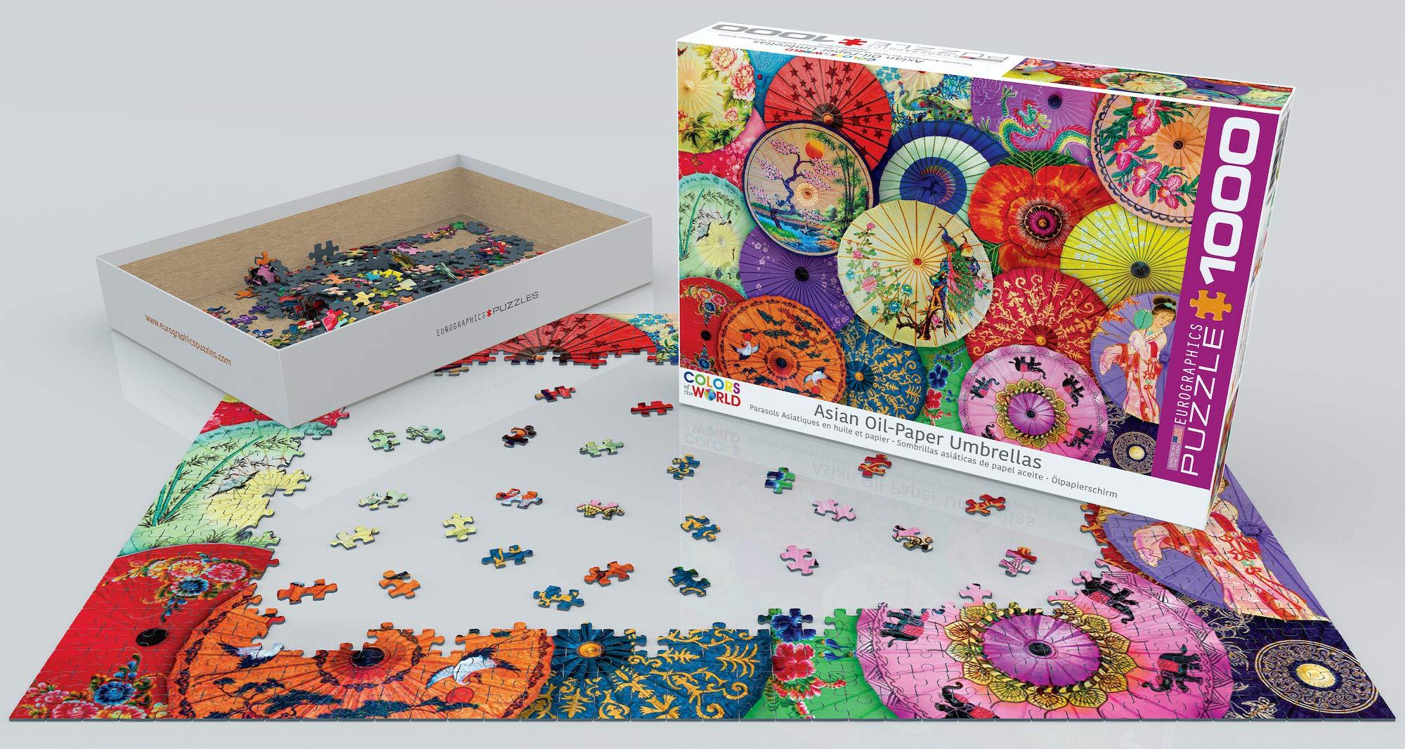 Japan Puzzle Kyoto Educa Borras 17969 1000 Yasaka Pagode Multicoloured