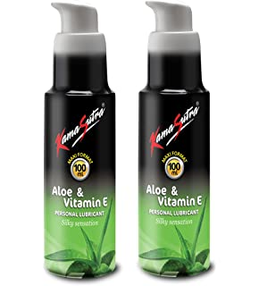 Buy KamaSutra Aloe and Vitamin E Personal Lubricant -50 ml Online at