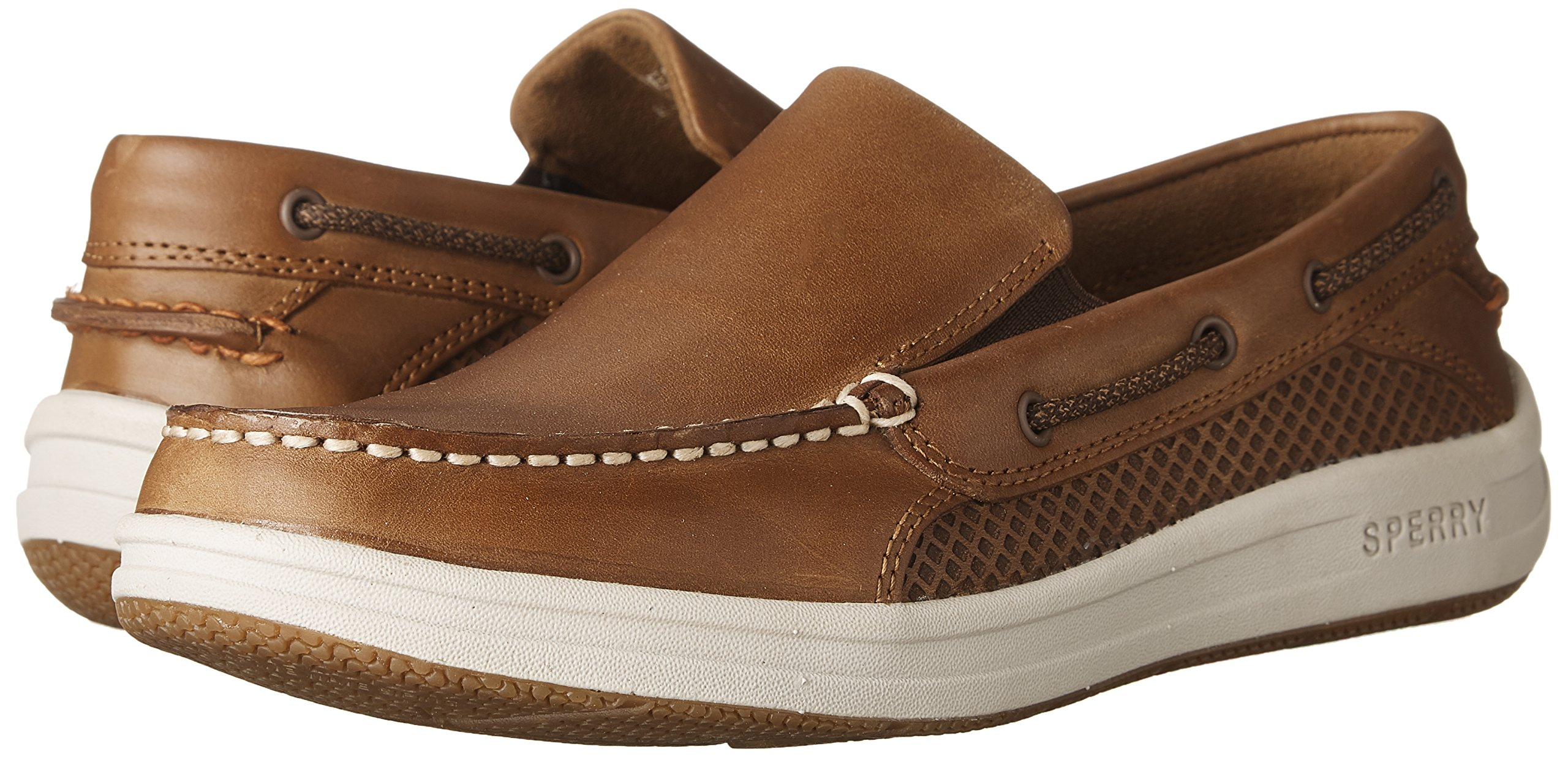 Sperry Top-Sider Men's Gamefish Slip On Boat Shoe, Dark Tan, 10.5 M US by Sperry Top-Sider (Image #6)