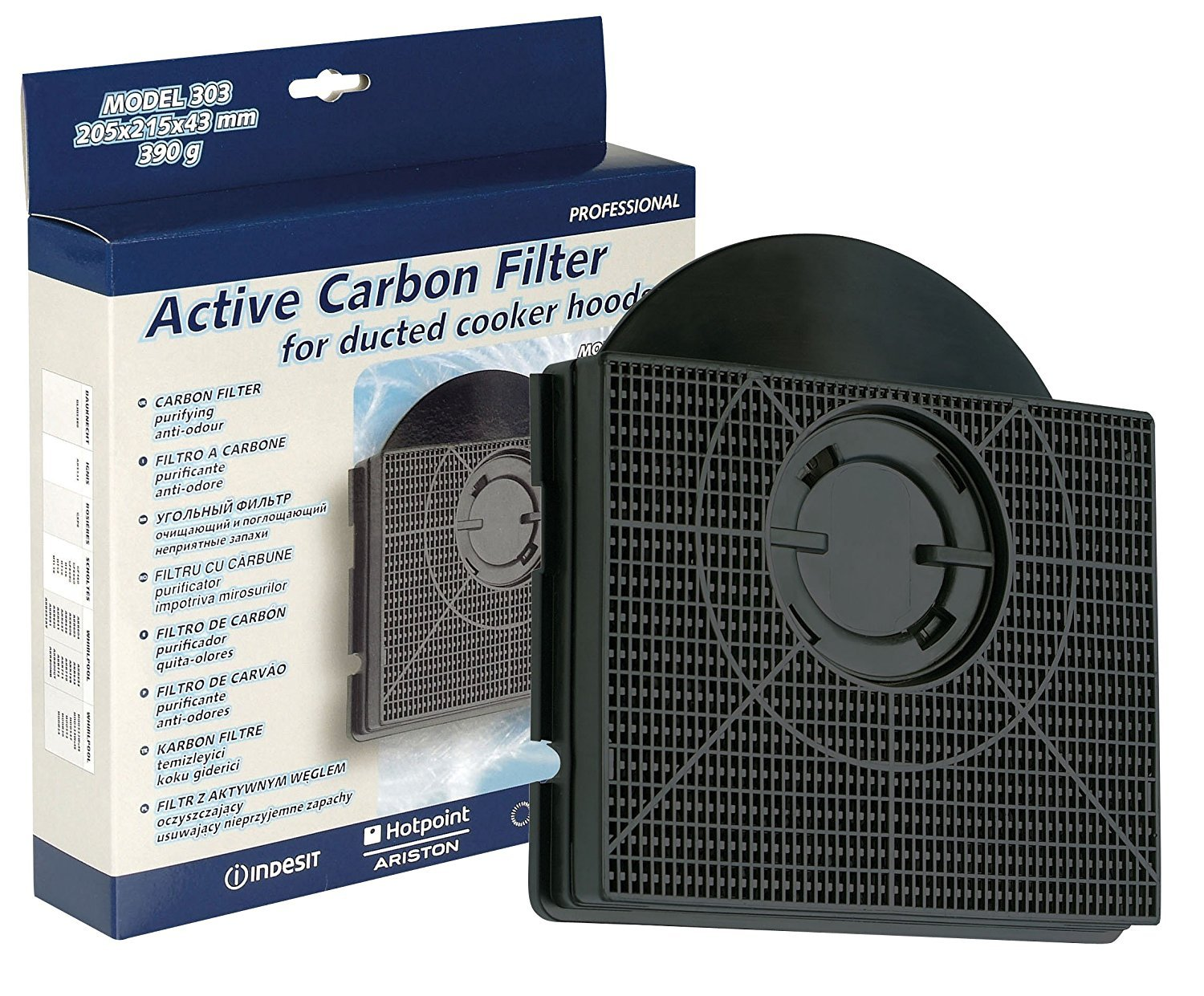 Hotpoint New Genuine Hotpoint Indesit Cooker Hood Charcoal Carbon Filter Genuine Part Number C00090716