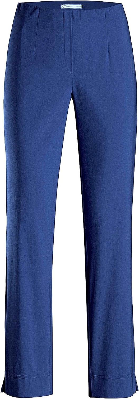 Stehmann Ina 740pour femme Pantalon Super extensible Coupe haute. Straight Fit- le plus confortable pour femme. acheter CE Pantalon une Taille plus petite. Cannelle